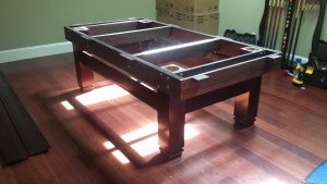 Pool and billiard table set ups and installations in Naples Florida